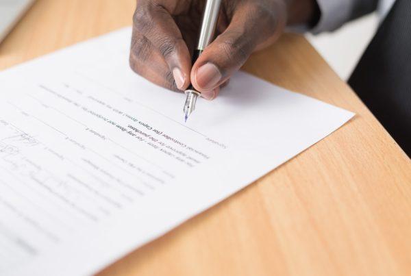 contrat d'agence